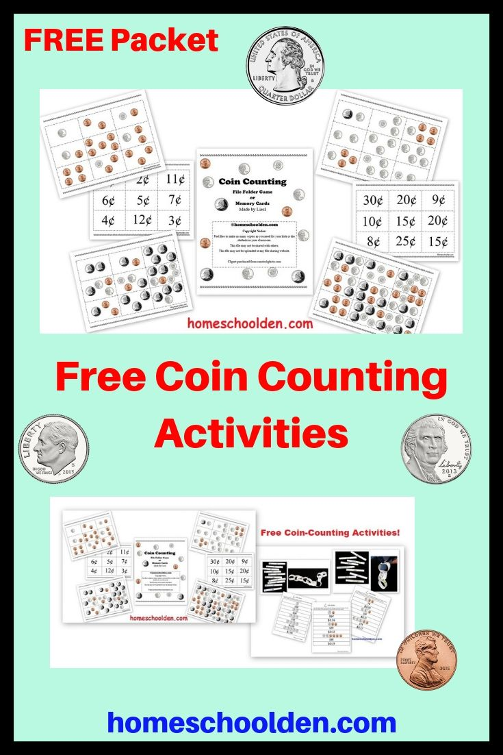 Free Coin Counting Activities Kids Will Practice
