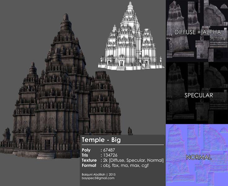 ArtStation - Tropical Jungle Temple of Light - Cryengine Foliage Animation, Baiquni Abdillah
