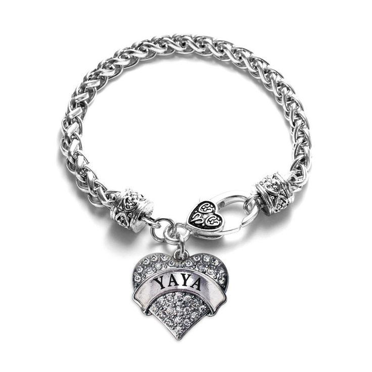 Yaya Pave Heart Charm Bracelet