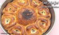 Gül Poğaçalı Ekmek Tarifi