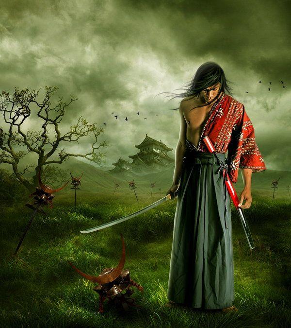 dark samurai anime - Google Search | everything samurai ...