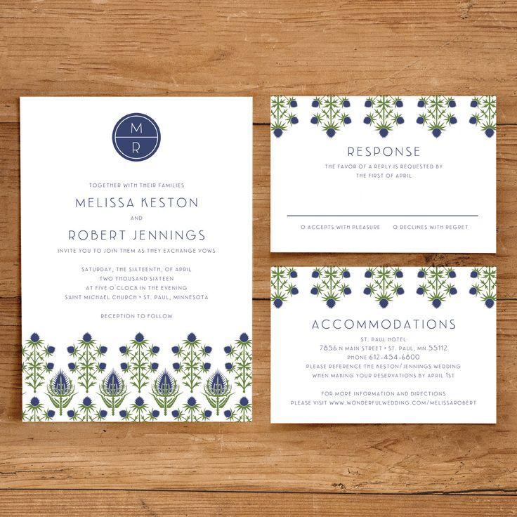 15 best Printable Wedding Invitations images on Pinterest | Wedding ...
