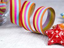 Webband -  Stripes sweets - 1m