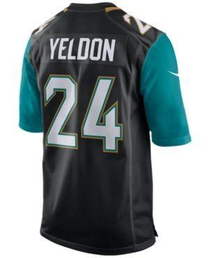 Nike Men's T.j. Yeldon Jacksonville Jaguars Game Jersey - Black XXL