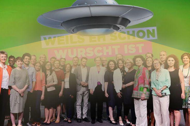 Nach Wahlergebnis: Grüne treten Rückreise zu Heimatplaneten an