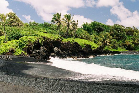Maui dans l'archipel d'Hawaii USA