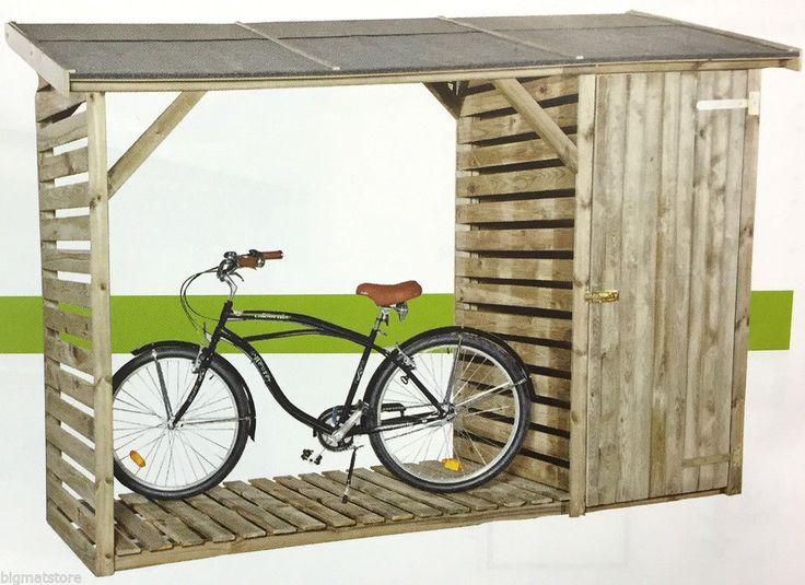 17 migliori idee su attrezzi da giardino su pinterest for Legnaia con ripostiglio