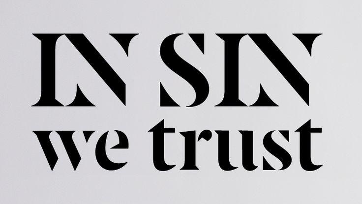 Flandria typeface by Julia Krysanova