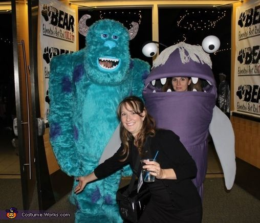monsters inc sulley and boo costume - Monster Inc Halloween Costumes Boo