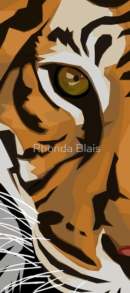 «Eye Of The Tiger» de Rhonda Blais