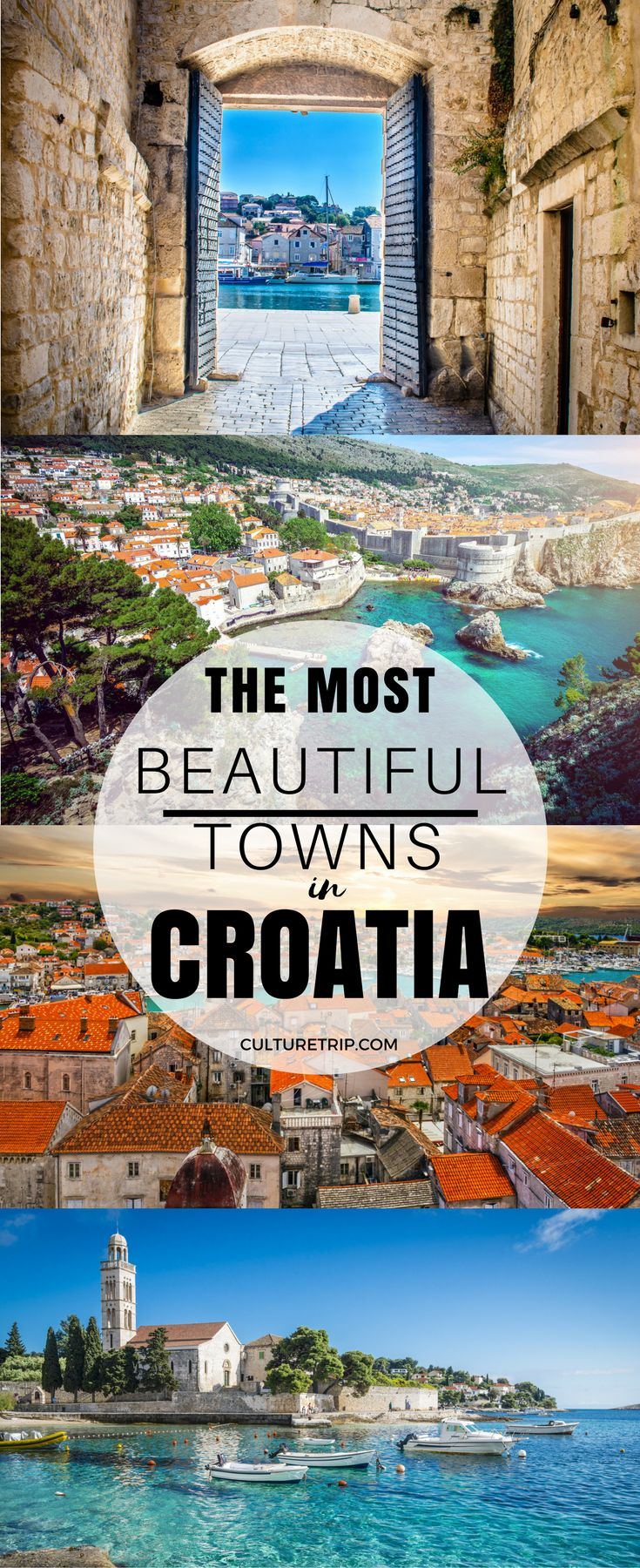 The 10 Most Beautiful Towns in Croatia|Pinterest: @theculturetrip