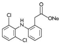 Solaraze® (diclofenac sodium) Illustration