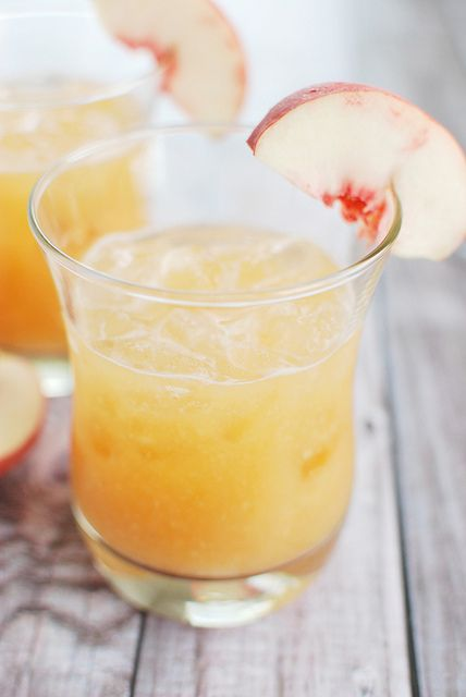 Frozen Ginger-Peach Margarita Recipe — Dishmaps