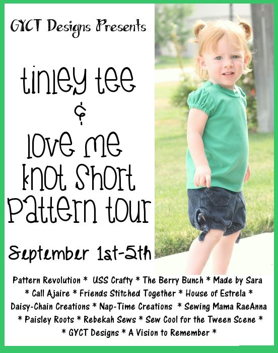 Tinley Tee and Love Me Knot Tour (9/1-9/5)