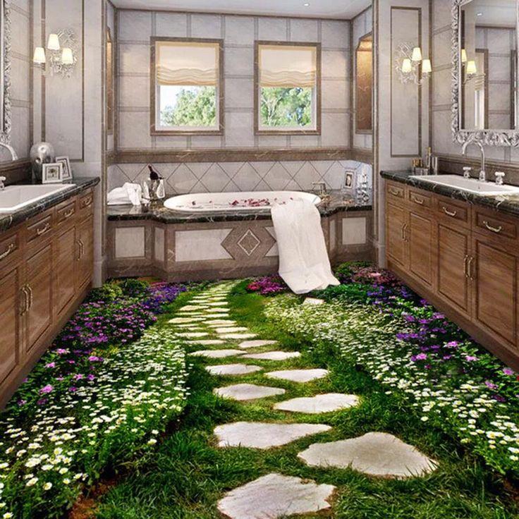1000 images about 3d tiles design on pinterest for Home garden floor design