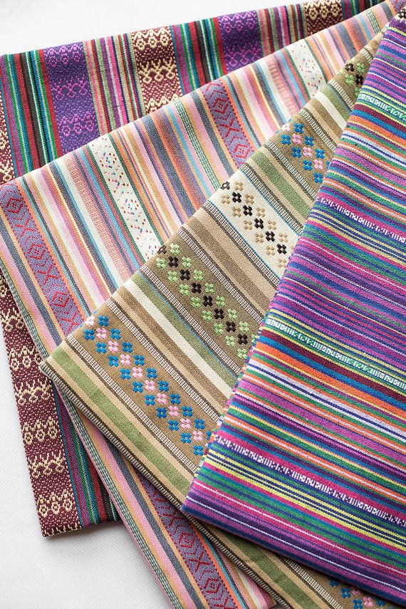 This fabric is colorful stripes knit fabric.4 styles available. In the first picture. From left to right, they are D,C,B,A. and the following pictures have been identified too. * Polyester blended cotton. Good colour fastness. * 330-380g/yard (11.5-13.5oz/yard). * Width 59 inch (150cm), listed for 18X59 (45cm x 150cm). If you need one yard, I will ship 90 cmX150cm. * Additional yardage will be cut in one continuous piece * Suit for sewing crafting,bag,purse, curtain,sofa chair upholstery…