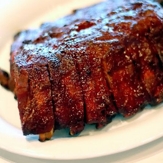 Masterbuilt Smoked Pork Ribs