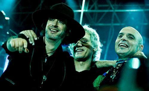 Gustavo Cerati, Charly Alberti y Zeta Bosio ... Beautiful