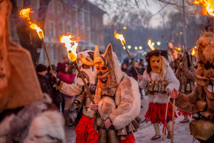 The magic and mystery of a cultural festival can ignite so many creative journeys in your child's imagination. Surva International Festival of Masquerade Games, Bulgaria
