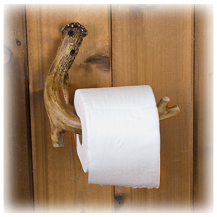 Replica Antler Toilet Paper Holder | Bass Pro Shops: The Best Hunting, Fishing, Camping & Outdoor Gear