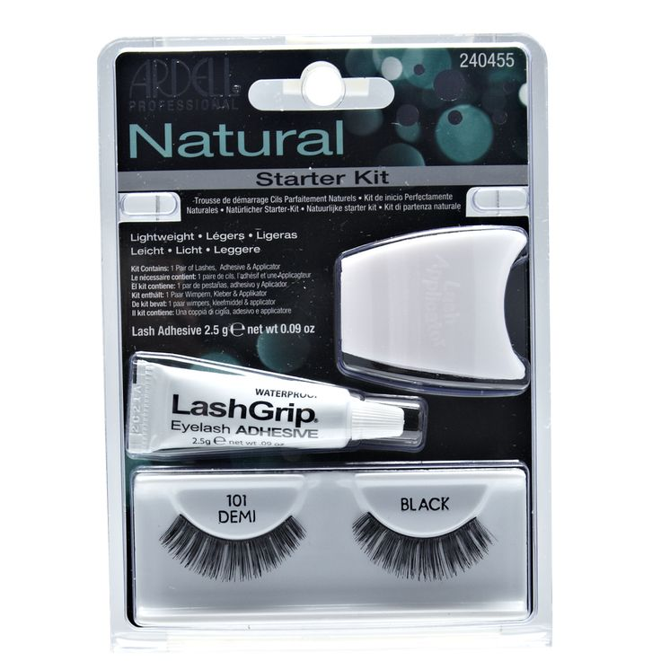 Ardell Fashion Lashes Starter Kit #101 Demi (New Packaging)
