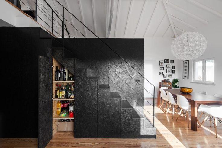 Loft dans une grange par Inês Brandão Idées loft, Osb et