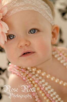 What a GORGEOUS One-Year-Old!!  BEAUTIFUL!!