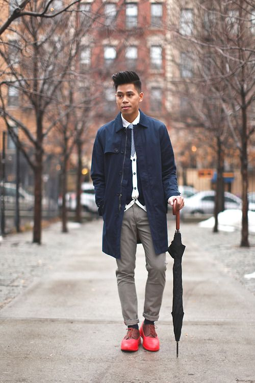 48 best Dressing Up to Cold and Rain (Men) images on ...
