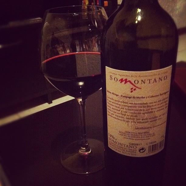#Vino Somontano (denominación de origen) Idrias. #España