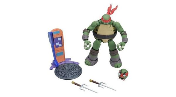 New Teenage Mutant Ninja Turtle Toys from Revoltech