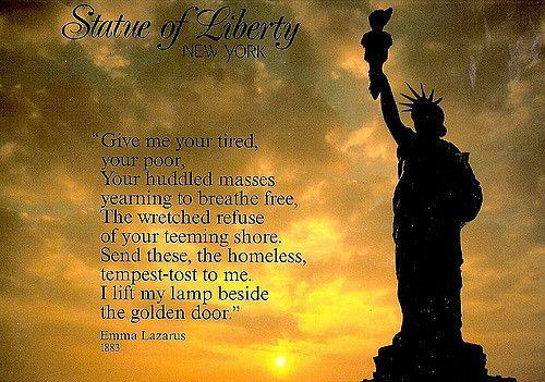 U.S. Statue Of Liberty New York City - Jewish Poem Lazarus… | Flickr