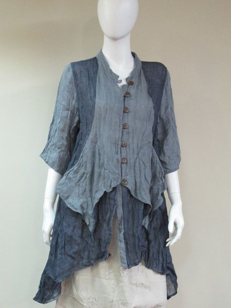 - Cheyenne Linen Gauze Tunic - Made with 100% natural ...