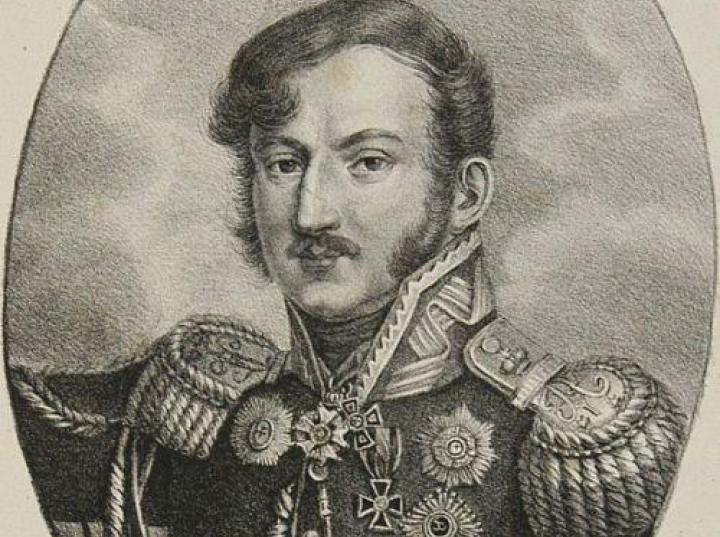 Generał Wincenty Krasiński adiutant cara Aleksandra I