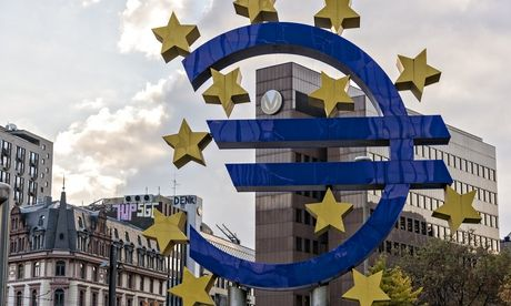 Economic growth figures: how can the eurozone escape a lost decade? Unlike the US and the UK, the eurozone has never really shown signs of emerging strongly from the financial crisis and recession of 2008-09  European Central Bank HQ in Frankfurt