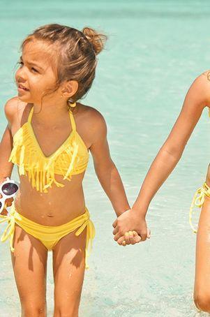 Baby L*Space Swim - Fringe Bikini / Daffodil - $79