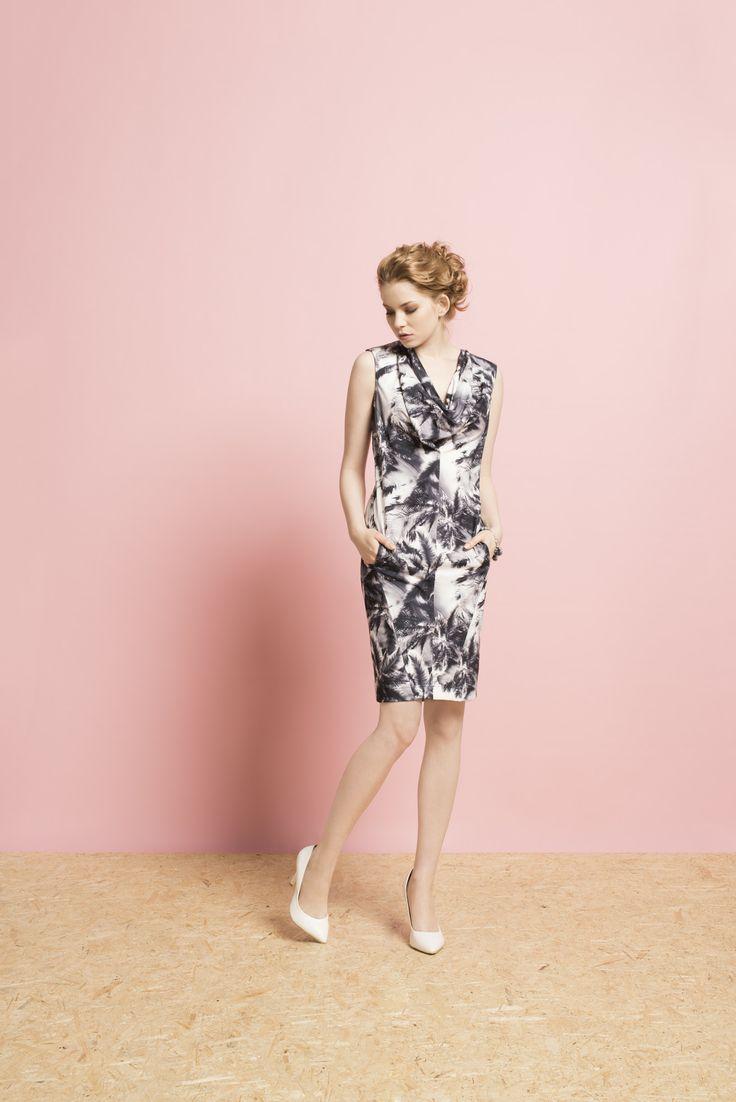 Kolekcja wiosna/lato 2014 #moda #kolekcja #lato #wiosna #wiosna-lato 2014 #SS2014 #danhen #lookbook #palmy #wakacje #białe szpilki #sukienki