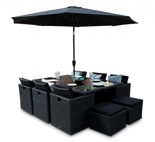 Black Rattan Cube Furniture   Woburn 10 Seater Set  If you re looking for. 7 best images about The Majestic Rattan Cube Furniture Set on