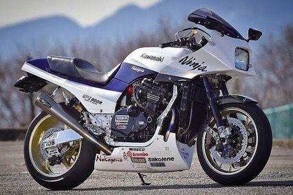 "@japanmusclebike auf Instagram: ""# gpz900r #kawasaki #japanracer #restomod #ohli …  – MOTO"