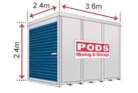 PODS moving and storage MEDIUM