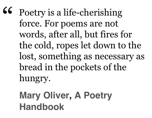 a poetry handbook mary oliver pdf