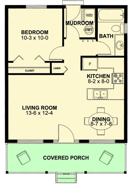 40 best Planta casas images on Pinterest Small home plans, Small