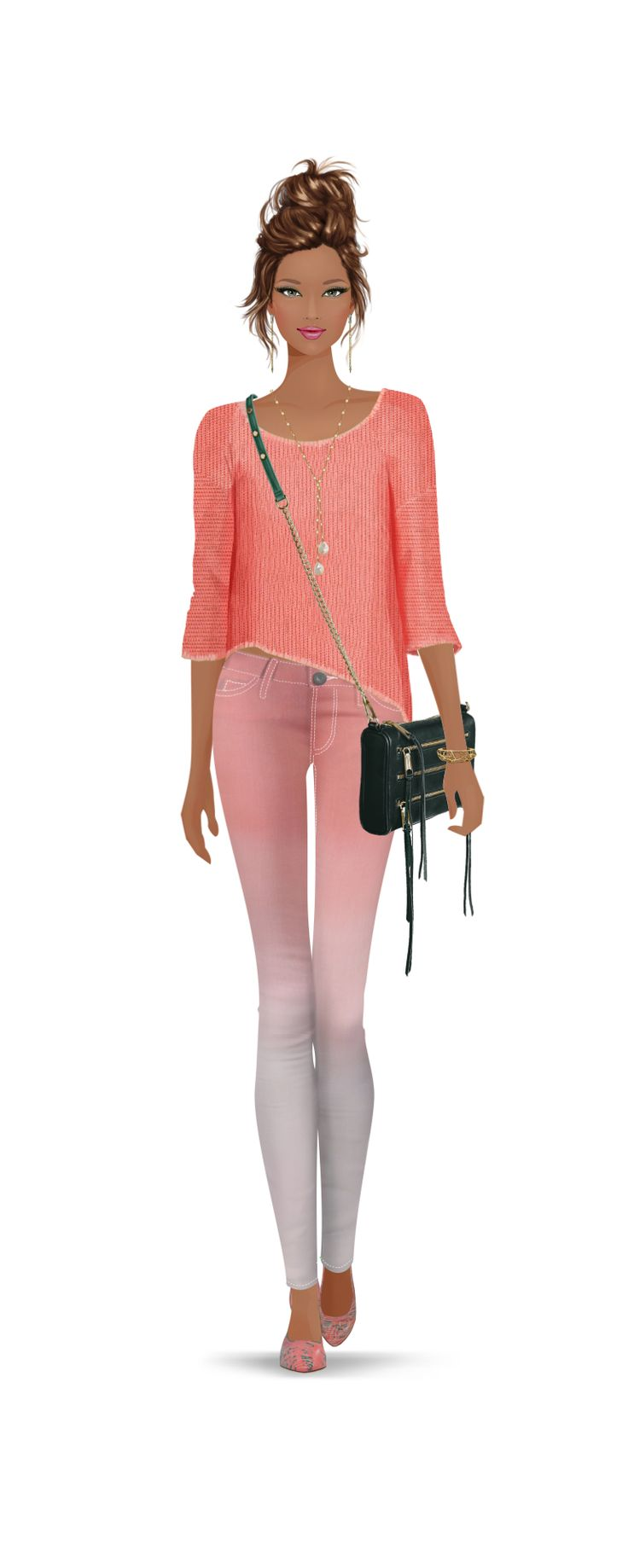 Amazing Barbie Girl / Spettacolare ragazza come una Barbie - by Covet Fashion Game