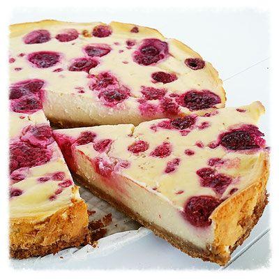 gezonde cheesecake citroen & framboos