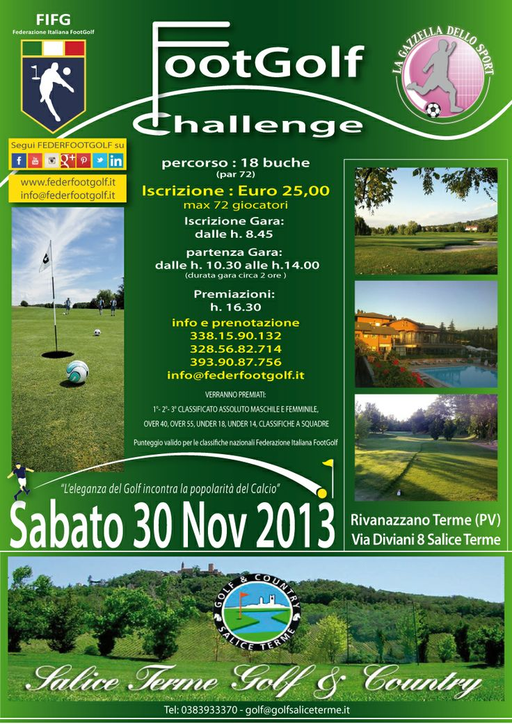 Salice Footgolf Challenge