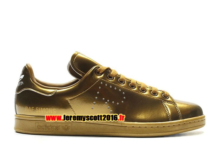 Adidas Stan Smith - Chaussure Adidas Sportswear Pas Cher Pour Homme/Femme Blond S75937