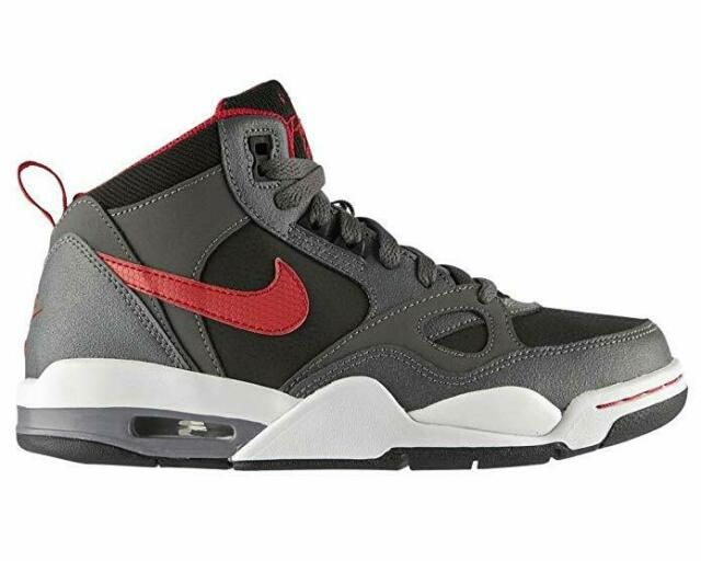 red nike boys trainers