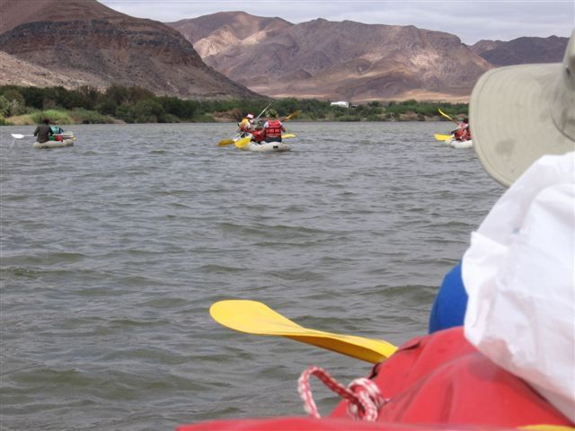The beautiful Orange River. River rafting with Aquatrails and Esna from Dirty Boots. @esnatheron www.dirtyboots.co.za #dirtyboots #orangeriver #rafting