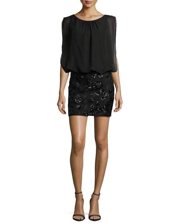 Aidan Mattox little black dress @myweddingdotcom