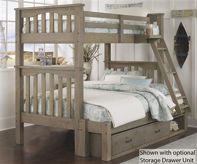 harper twin over full size bunk bed highlands beds ne kids furniture the