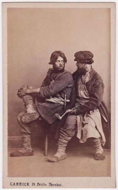 Fascinating Photos of 19th Century Russian Peasants flavorwire.com